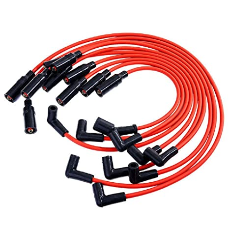 Rendimiento Spark Plug Wire Set 10,5 mm para 1992 – 1997 Chevy Gm LT1