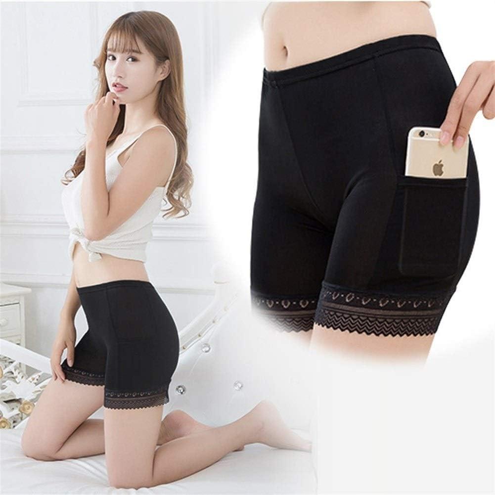 LABAICAI Pantalones Cortos de Seguridad for Mujer Sexy Pantalones ...