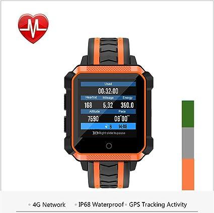 Amazon.com: 4G Smart Watch Ip68 Waterproof GPS Navigation ...