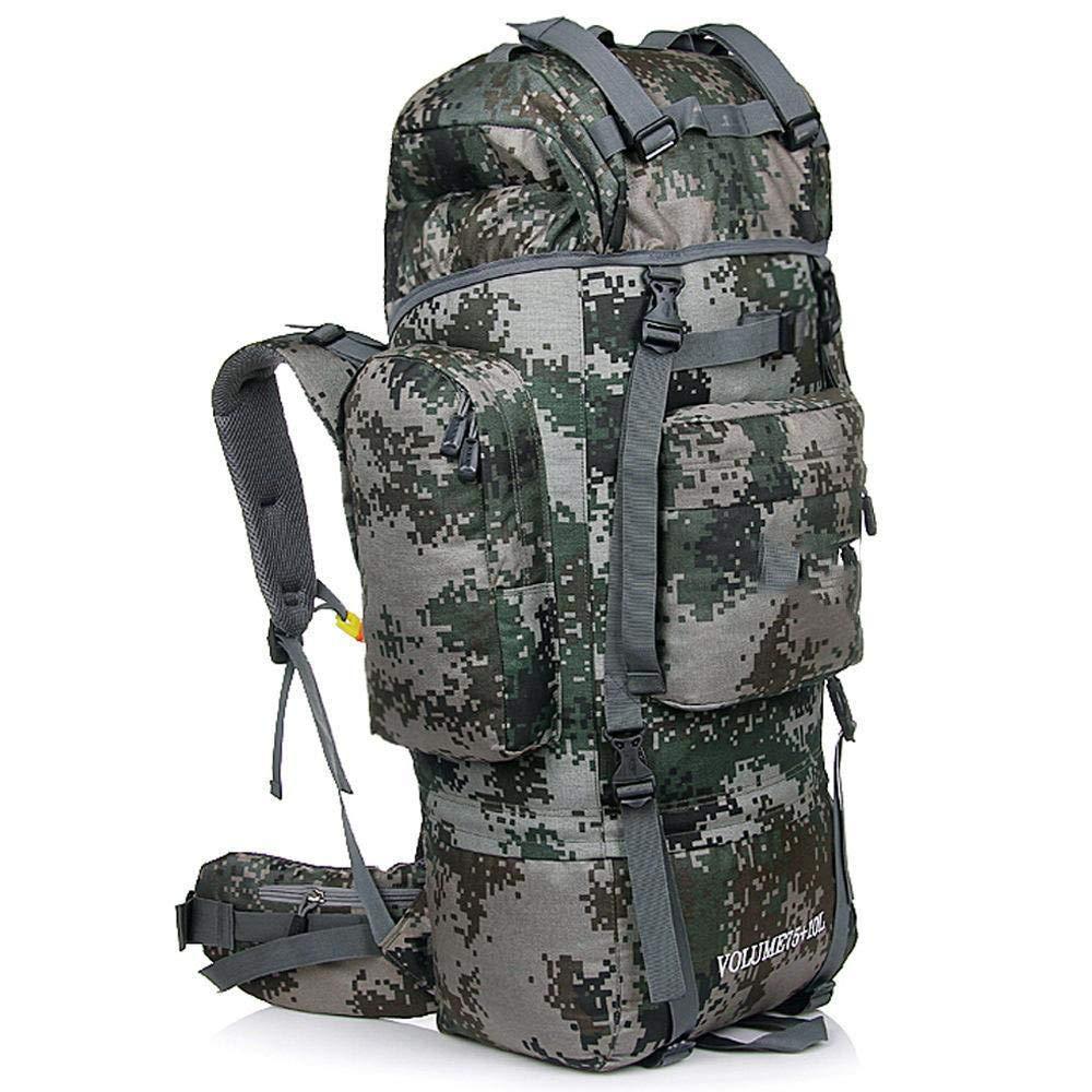 NuoEn Sports Backpack Large Capacity Multi-Purpose Mountaineering Bag Outdoor Shoulder Waterproof Backpack Camping Hiking Bag