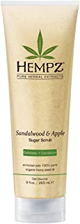 product image for Hempz Herbal Body Scrub, Sandalwood And Apple 9 Ounce