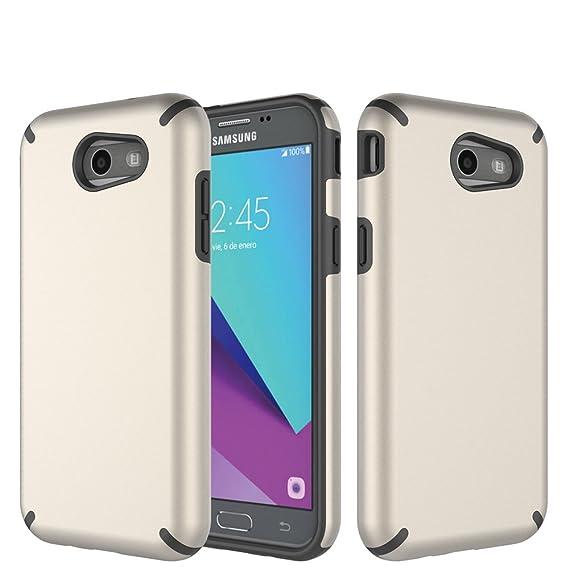 Samsung Galaxy J3 Case 2017,Galaxy J3 Prime Case for Grils,Samsung Galaxy  J3 Emerge Heavy Duty Case,Dual Layer Galaxy J3 Emerge Case Shockproof