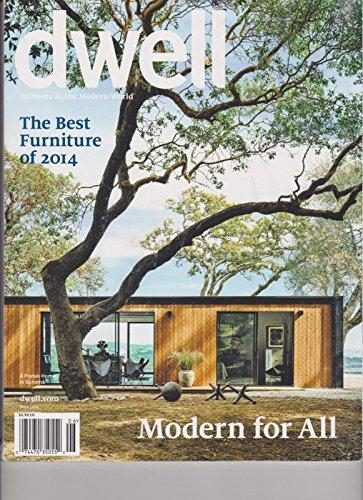 DWELL MAGAZINE JUNE 2014, THE BEST FURNITURE of 2014. (Furniture Briarwood)