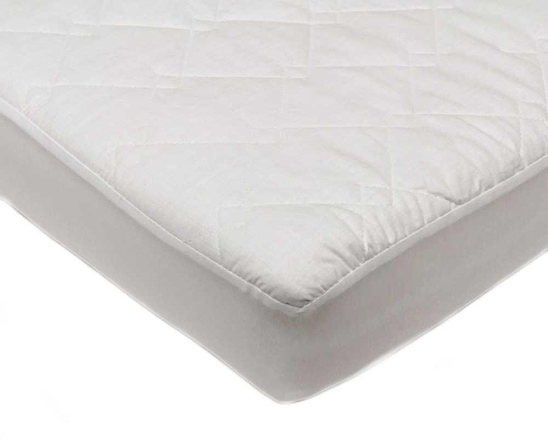 DreamEasy poliéster Acolchado Protector de colchón, Color Blanco, 191 x 121 x 33 cm, 191 x 121 x 33 cm: Amazon.es: Hogar