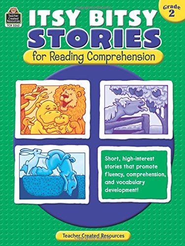 UPC 088231932628, Itsy Bitsy Stories for Reading Comprehension Grd 2