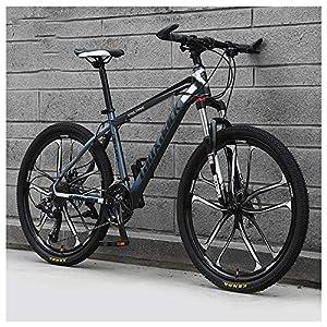 61MmJc4DO8L. SS300 26 Pollici 21 velocità, ABicicletta, Bicicletta Mountain Bike, dulto Bicicletta MTB, Biciclette, Doppio Freno A Disco…
