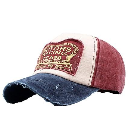 f540a9430 Amazon.com: Mens Athletic Baseball Fitted Cap Baseball Cap Dad Hat ...