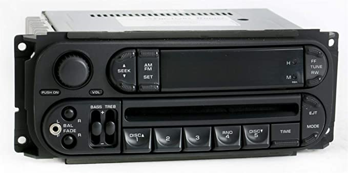 Amazon Dodge Jeep Chrysler 0207 Radio Amfm Cd Player W Aux Rhamazon: Oem Radios For Jeep At Gmaili.net