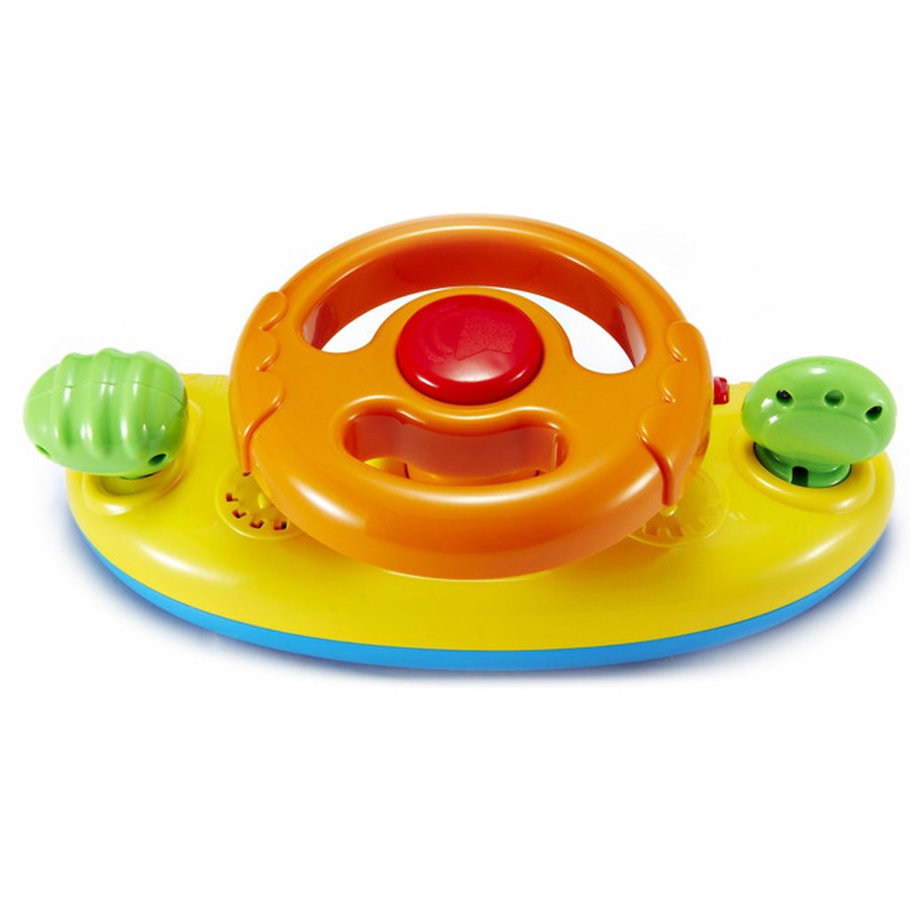 Amazon.com : MagiDeal Baby Toddler Car Seat Buggy Steering Wheel Toy ...