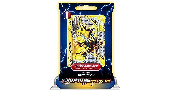 Pokémon LUXRAY TURBO 47/122 170PV XY09 RUPTURE TURBO - Booster de 10 cartas Pokémon francesas my-booster: Amazon.es: Juguetes y juegos