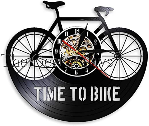SSCLOCK Time To Bike Bikers Cita inspiradora Decoración para el ...