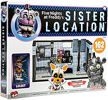 McFarlane 12825-3 Five Nights at Freddy/'s Medium Construction Set Scooping Room