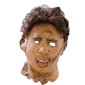 XINXIN Motosierra Asesino Halloween Horror Máscara Látex Bar Danza Película Props
