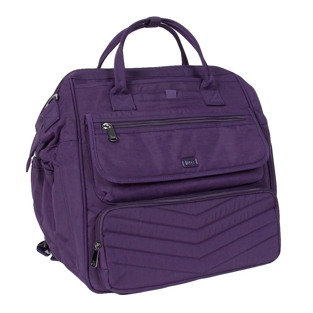 Lug Women's via Convertible Travel Duffel Bag, Concord Purple, One Size