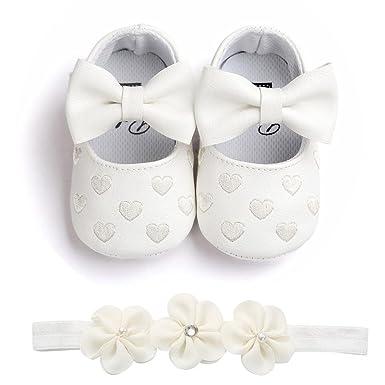 17936a330b109 SamMoSon Scarpine Neonato Scarpe da Bambino Ragazze Amare Ricamo Bowknot  Sneaker Shoes Sandali Primaver Scarpe Antiscivolo