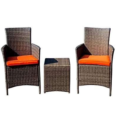 PATIO Chaise Lounge Chairs Clearance Sale With Coffee Table, Outdoor And  Indoor, 3 Piece