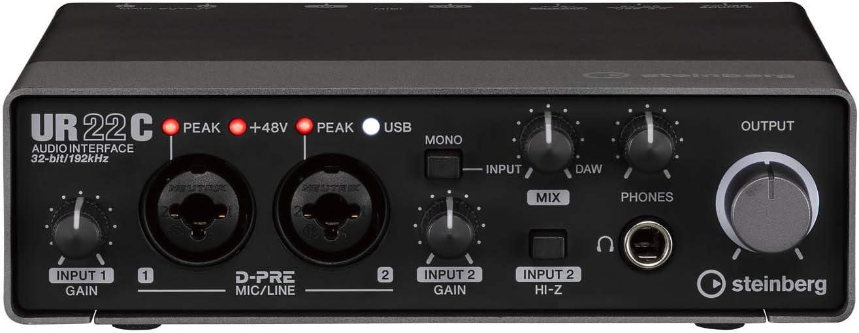 Steinberg UR22C USB 3.0 Audio Interface: Amazon.in: Musical Instruments