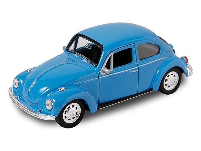 Gelb VOLKSWAGEN BEETLE 12cm K/äfer VW Modellauto Modell Auto 4 Farben Spielzeugauto 64