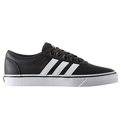 adidas Adi-Ease Black White Gold Skate Shoes-Men 8.0 aacfacfa9724