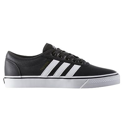 adidas Adi-Ease Black White Gold Skate Shoes-Men 11.0 832a1fc66