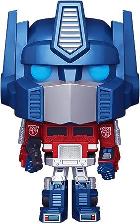 Funko Pop! Retro Toys: Transformers - Metallic Optimus Prime Amazon Exclusive: Toys & Games - Amazon.com