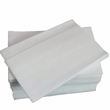 jebblas disposable hand towels soft and absorbent hand napkins sturdy paper for bathroomkitchen - Disposable Hand Towels
