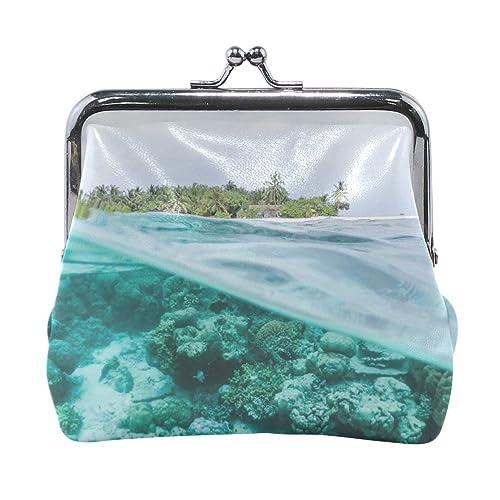 Amazon.com: Rh Studio - Monedero con diseño de océano bajo ...
