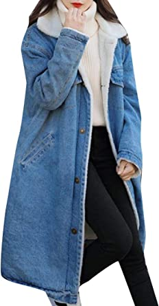 YUNY Womens Long Sleeve Windbreaker Oversized Trucker Jacket Light Blue 3XL