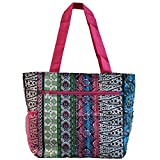 World Traveler 13.5 Inch Beach Bag, Bohemian, One Size Review