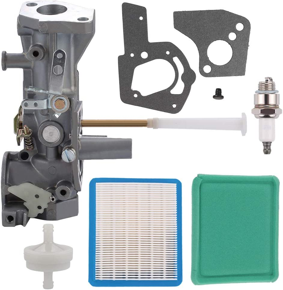Harbot 499952 Carburetor with Air Filter Tune Up Kit for Briggs and Stratton 091212 091202 091232 091252 092202 092212 092232 092252 094202 095202 095212