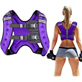 Prodigen Running Weight Vest for Men Women Kids 8 12 16 20 25 30 Lbs Weights Included, Body Weight Vests for Training Workout