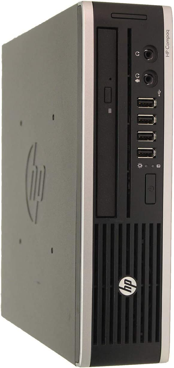 HP Elite 8300 Ultra Slim High Performance Business Desktop Computer, Intel Quad Core i7 Up to 3.9Ghz, 16GB RAM, 480GB SSD, DisplayPort, USB 3.0, Windows 10 Pro (Renewed)