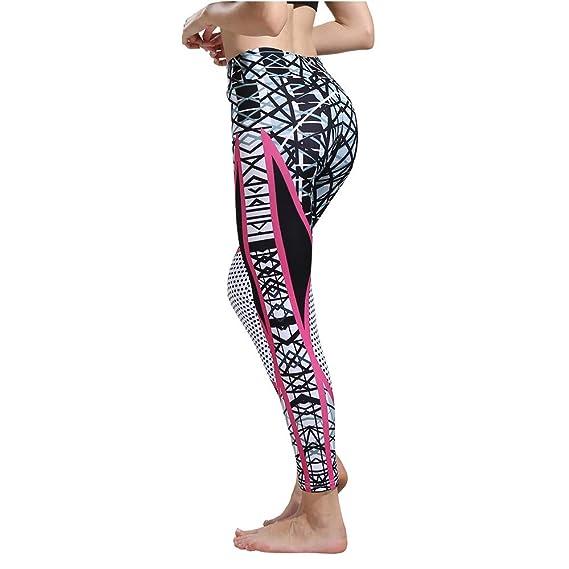 MINXINWY_Leggins de mujer Fitness Cintura Alta, Mallas ...
