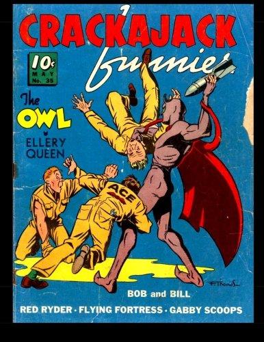 Crackajack Funnies #35: Classic Golden Age Comic ebook