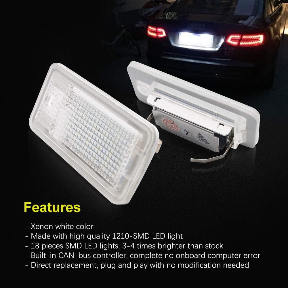 Fits Audi A4 B7 2.0 TFSI Quattro White 54-SMD LED 12v Side Light Parking Bulbs