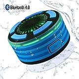 Alitoo Speaker Bluetooth Impermeabile Altoparlante doccia Portatile Stereo resistente all'acqua Wireless per Android Smartphone e Tablet PC, ecc.