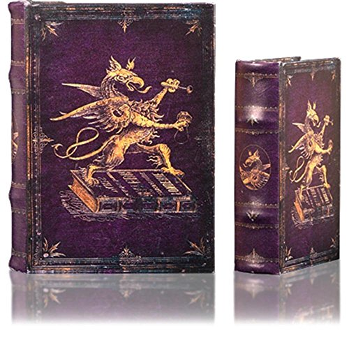 Faux Book Box Set (Royal Griffon Decorative Storage Book Boxes (Set (Includes Large and Small)))