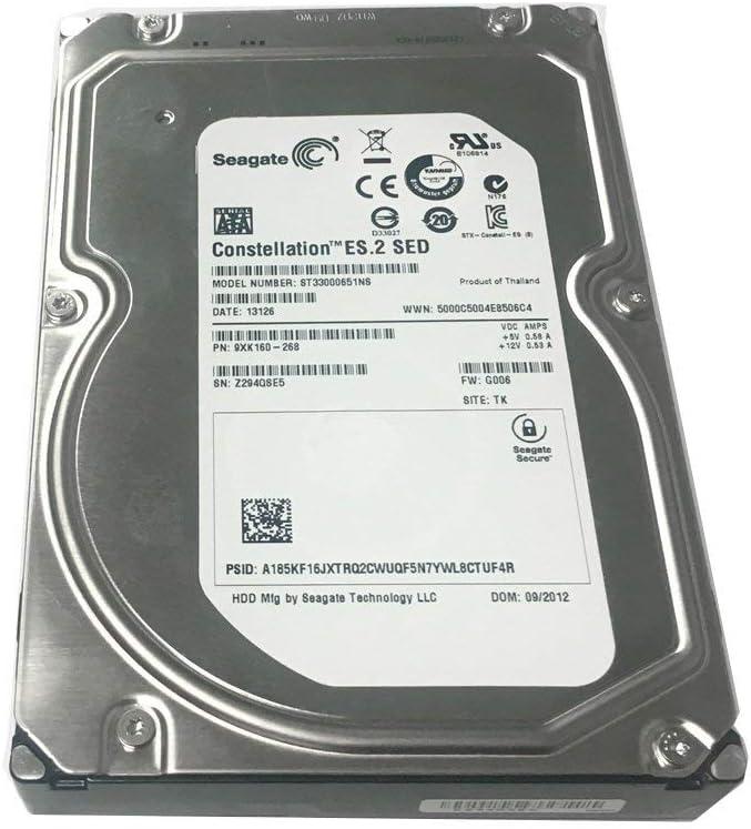 Security CCTV DVR PC RAID Seagate 3TB 7200RPM 64MB Cache 3.5 SATA III 6.0Gb//s Renewed Heavy-Duty Hard Drive NAS w//1 Year Warranty