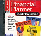 Quicken Financial Planner, QuickPlan Edition