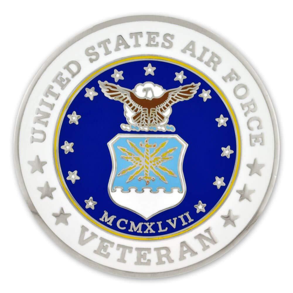 Amazon com: PinMart Military USAF Air Force Veteran Engraved