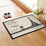 kitchen rugs brown ZAKKA Coton