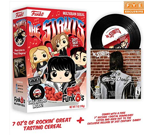 Funko Pop Cereal The Struts con Disco Vinilo 7' Exclusivo FYE S