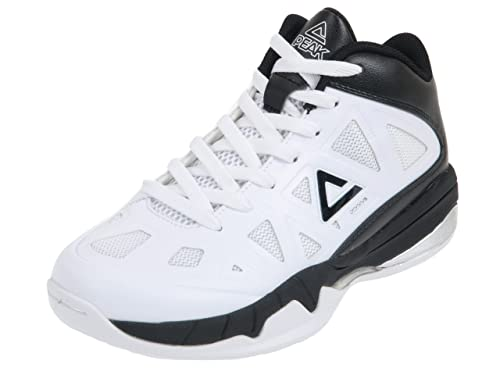 Peak - Zapatillas de Baloncesto para niño Blanco Blanco 35: Amazon ...