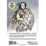 Lady Mechanika Steampunk Coloring Book 6