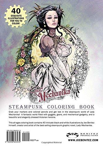Lady Mechanika Steampunk Coloring Book 4