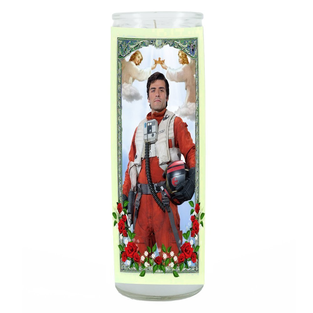 Poe Star Wars The Force Awakens Prayer Candle