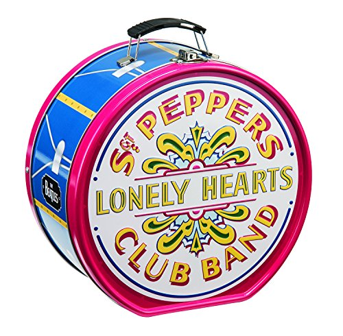 Shaped Lunch - The Beatles Sgt. Peppers Shaped Tin Tote 72270
