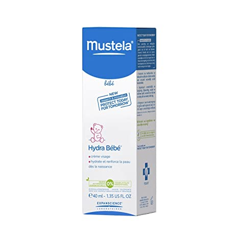 Mustela HydraBebe Facial Cream Normal Skin 40ml/1.35oz Body Creams at amazon