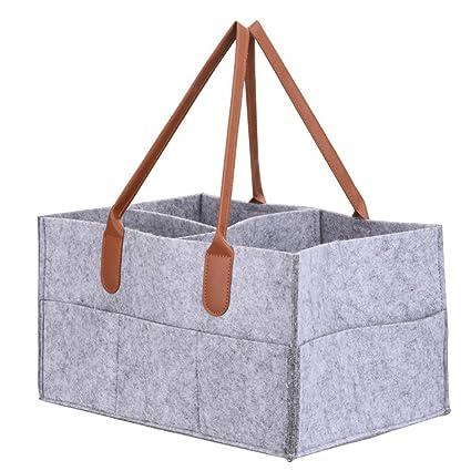 Organizador de pañales para bebé, bolsa de almacenamiento plegable ...