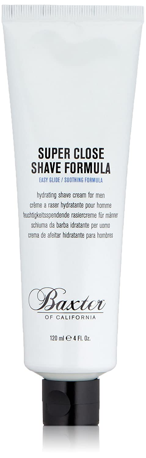 Baxter of California Super Close Shave Formula 4 oz 884486310347